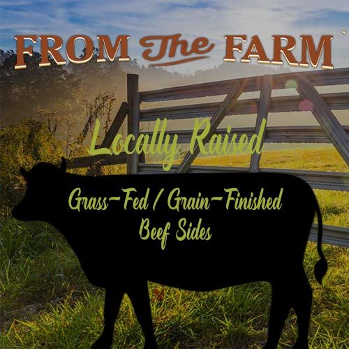 Grass Fed Grain Finished Beef Sides For Sale
